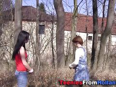 Teenage lesbian fingered sex