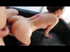Hasumi kurea oiled up and fucked