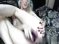 Webcam is a place to jam a toy in her puss