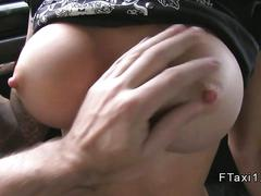 amateur, big boobs, hardcore, public, big tits, fucking, sucking, car, taxi