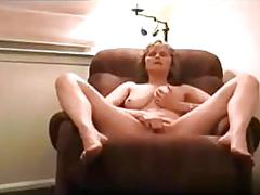 Blonde slut has a hot fuck and she gets an orgasm