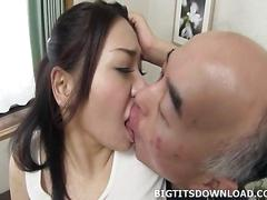 Asian with big ass and giant tits