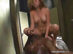 Black big cock stuffing blondie