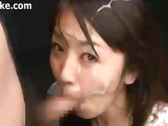 asian, cumshot, japanese, cum in mouth, bukkake, facial, oriental