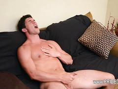 This sweet gay masturbation is perfect