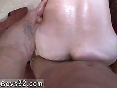 Groaning white stud fucked on all fours with a bbc