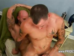 Buddies with dick deeply inserted in his ass  feature
