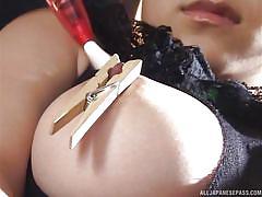 babe, japanese, big boobs, vibrator, sex toys, clothespins, masked guy, feather, big tits tokyo, all japanese pass, minami hoshikawa