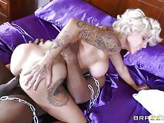Blonde beauty needs a gigantic black cock asap