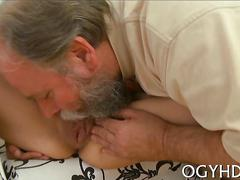 Teen has a fat cock and an old cock too