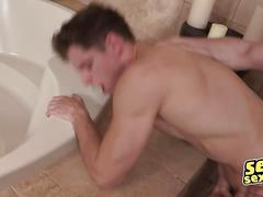 Randy and dean men with monstrous cocks