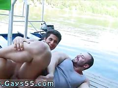 Juicy ass bear gets drilled on a pier in public