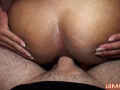 Ladyboy narnia fucked bareback and creampied