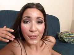 Sex with petite latina