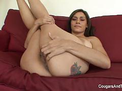 Yoga instructor milf licking lesbian lust