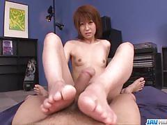 Riding and sucking a hard cock