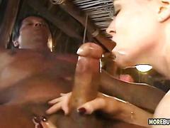 Beach house anal orgy
