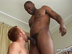 Buddies with penis deeply inserted in his ass  feature