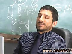 Skinny twinks gets an oral exam from his hot teacher