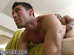 Gay ass dude has a hot fuck from the back