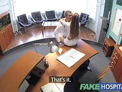 Fakehospital workplace hot sex with doctor and...