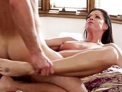 Mature beauty india summers rides a stiff dick
