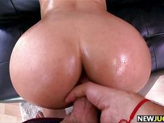 Anal sex and a pussy pounding for bridgette b