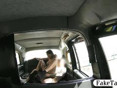 Big tits tattooed passenger offered bj and a fuck for free