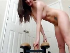 amateur, masturbation, webcam, ass