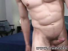 Sexy college boy lubed up for a ass jamming session
