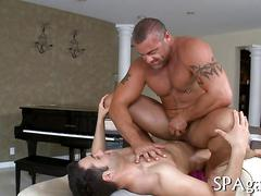 Wild massage for gay bear film clip 1