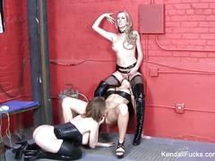 Lesbian threeway with kendall, emily, and brett