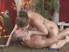 brunette, milf, for women, massage, exclusive, massagerooms, sensual, female-friendly, orgasm, fingering, shaved-pussy, natural-tits, creampie, cock-sucking, riding, shaved