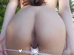 brunette, blowjob, public, exotic4k, hd, petite, lucy-doll, hardcore, facial, pussy-eating, small-boob, shaved, gagging, deep-throat, reverse-cowgirl