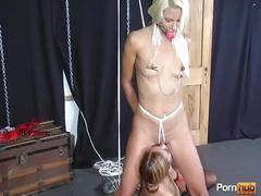 Bondage bitch interviews - scene 2