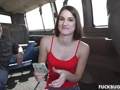 blowjob, brunette, public, babe, fucking, beautiful, car, casting