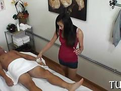 Asian masseuse gives her client the happiest ending hes ever gotten