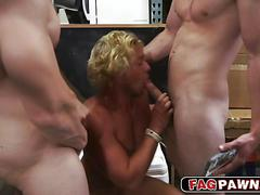 blowjob, group, interracial, hunk, muscle, fucking, sucking, gay, threesome, money for sex, stud
