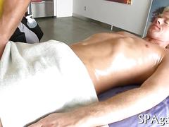 Sucking and ass fucking during the massage session