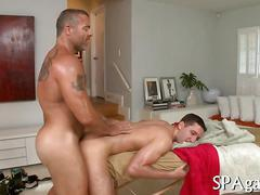 Anal fucking and the dude adores the bum fuck
