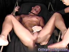 Nasty guy submitted to nasty toy sex and more