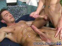 Hot young guys spend the afternoon making out and having sex