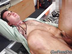 Amateur gets cum facial masturbation