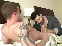 Marcus invites darin for a hot gay fuck