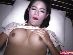 A bareback short-time with ladyboy visa