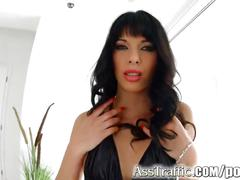 brunette, milf, anal, small tits, asstraffic, ass-fuck, teasing, doggy-style, shaved, toys, small-tits, mom, hardcore, riding, revers-cowgirl, standing-sex, blowjob