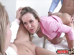Teen asks for help from a cock loving milf
