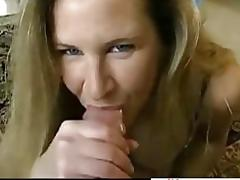 Big tits milf eats cum in a cock sucking compilation