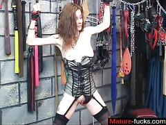 bdsm, masturbation, mature, milf, wife, bondage, cougar, cuckold, lingerie, mom, rubbing