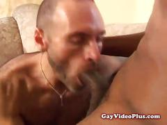 Teen gays watched by nasty stud